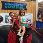 Their first time to the MN State Fair!